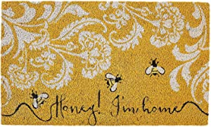 DII 91193 Honey I'm Home Doormat, Multicolor