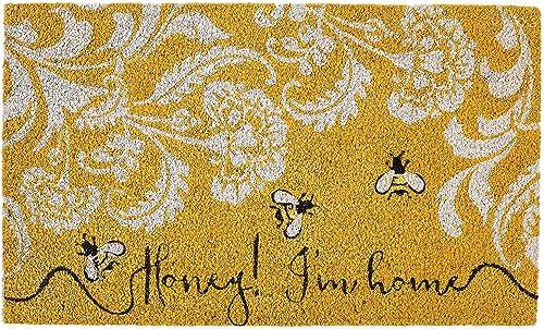 DII 91193 Honey I m Home Doormat, Multicolor
