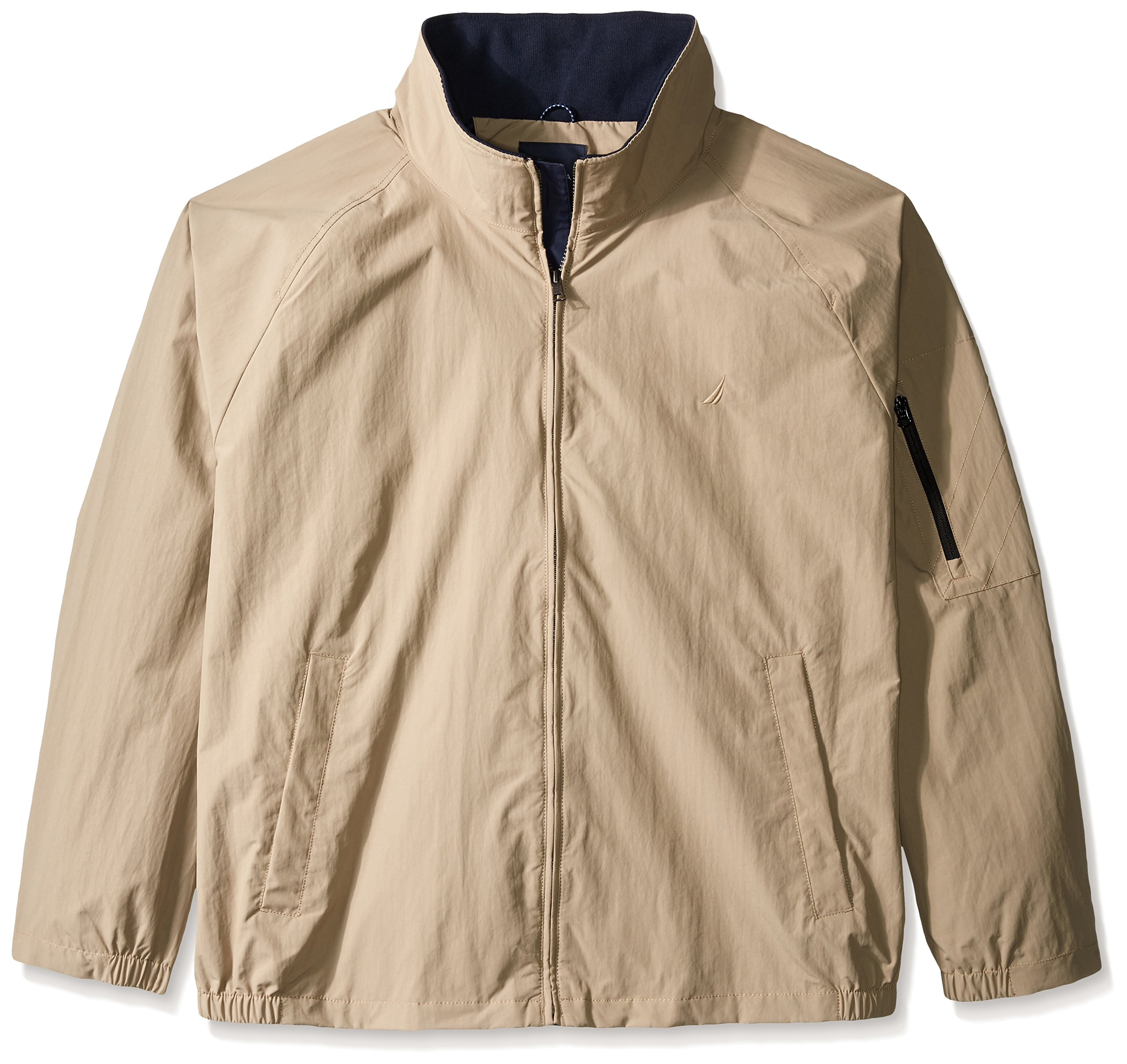 Nautica Men's Big-Tall Bomber Jacket, True Khaki, XX-Large