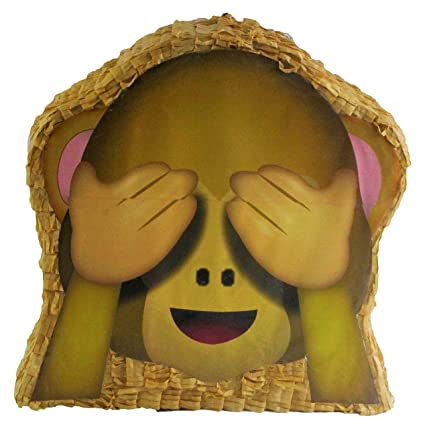 Amazon Pinatas See No Evil Monkey Emoji Icon Party Game