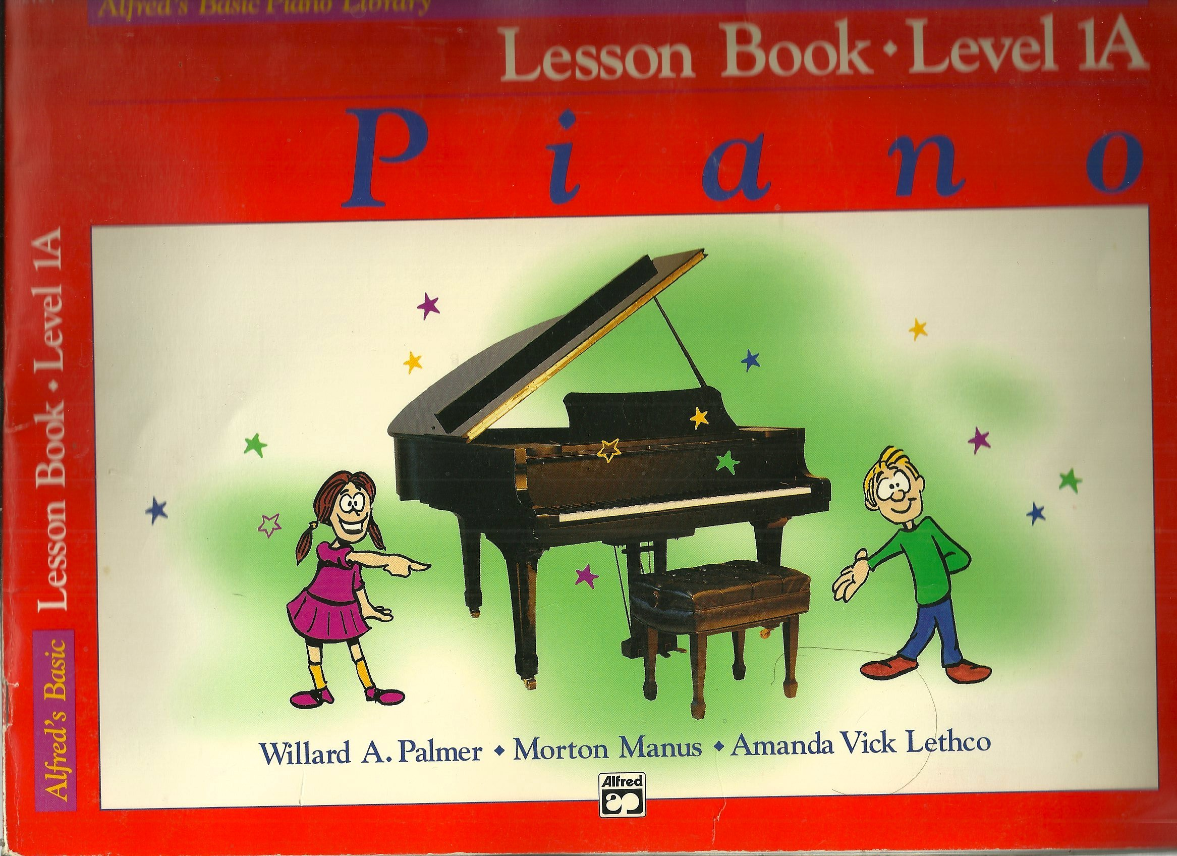 Alfred's Basic Piano Library Lesson Book (Level 1A)