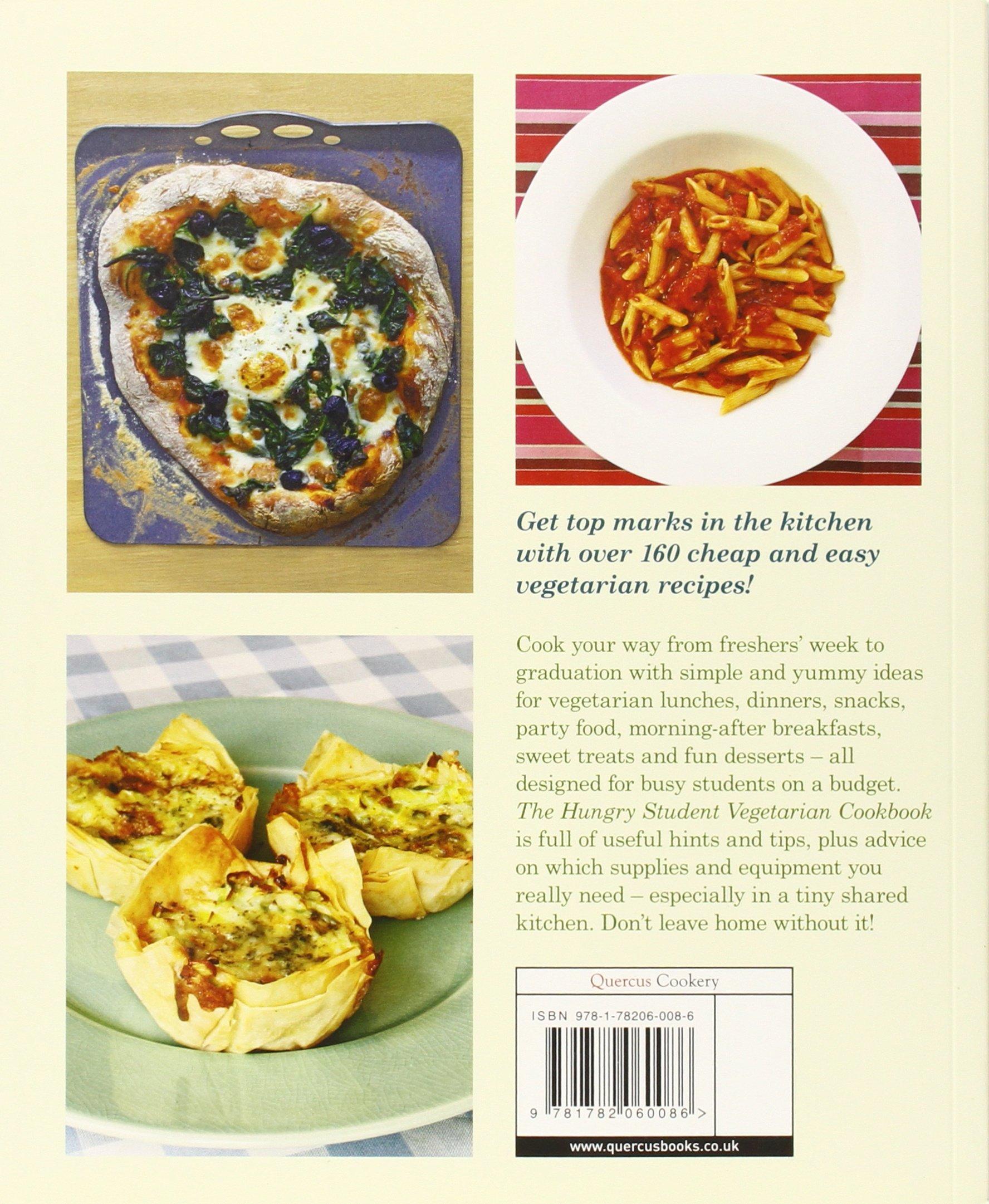 The Hungry Student Vegetarian Cookbook Amazonde Charlotte Pike Fremdsprachige Bucher