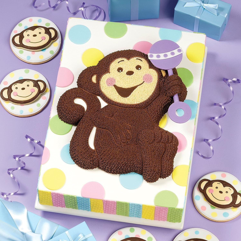 Amazon Wilton Monkey Shaped Pan Novelty Cake Pans Kitchen