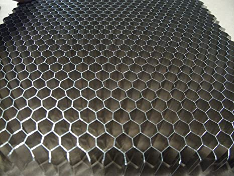 "12/"" x 6/"" x 1.00/"" Aluminum Honeycomb Grid Core Mesh 1//8/"" Cell"
