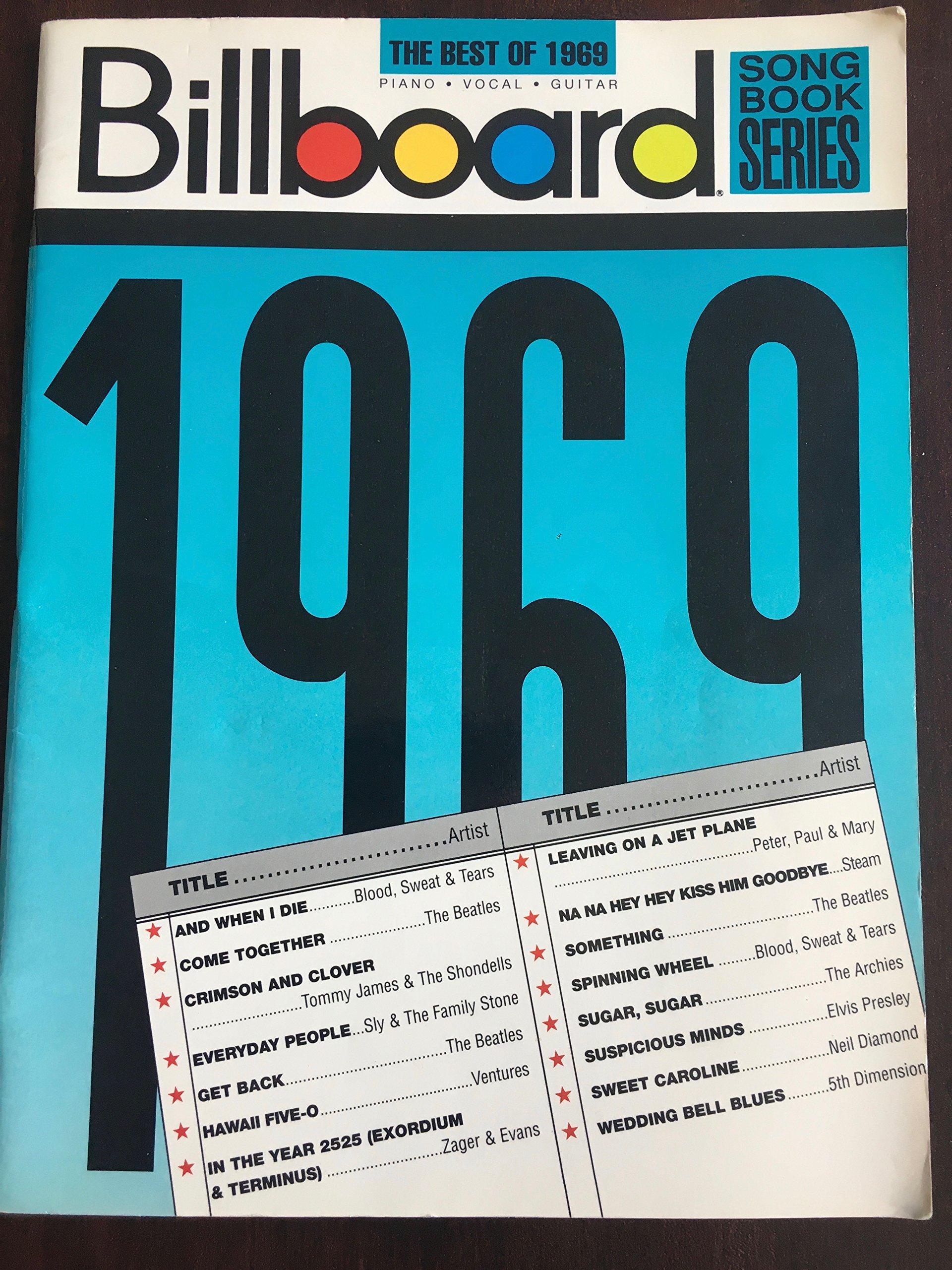 Billboard Series Best of 1969: Amazon.es: Libros en idiomas ...
