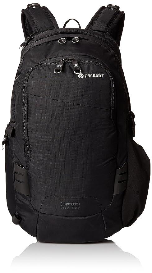 Pacsafe V17 - Funda (Funda Tipo Mochila, Universal, Compartimento del portátil, Negro