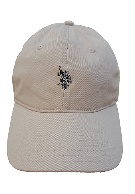 U.S. Polo Assn. Washed Twill Adjustable Ball Cap (Stone) at Amazon ... bbe33ebd54eb