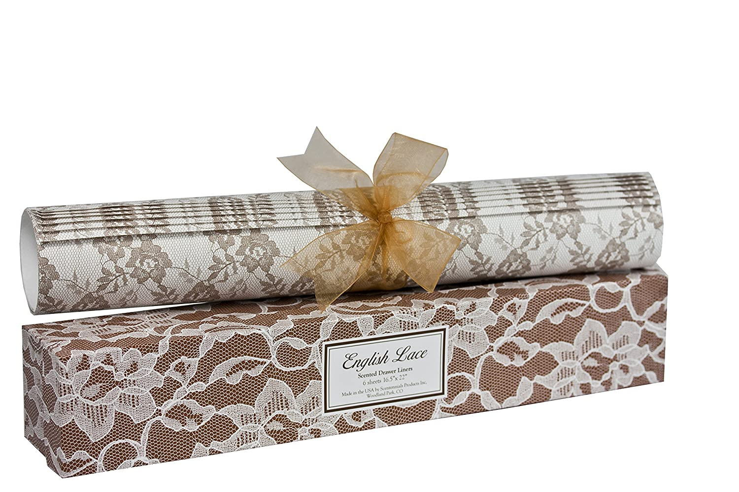 English Lace Scented Drawer Liner from Scentennials Scentennials Products Premium