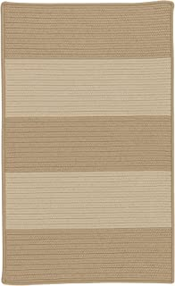 product image for Colonial Mills Newport Textured Stripe Braided Rug, 5' x 7' , Naturals