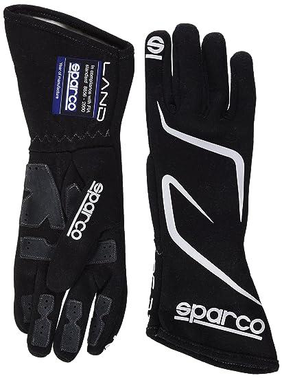 8d7369e56c4695 Amazon.com: Sparco Land RG-3.1 Racing Gloves 01308 (Size 9, Black):  Automotive