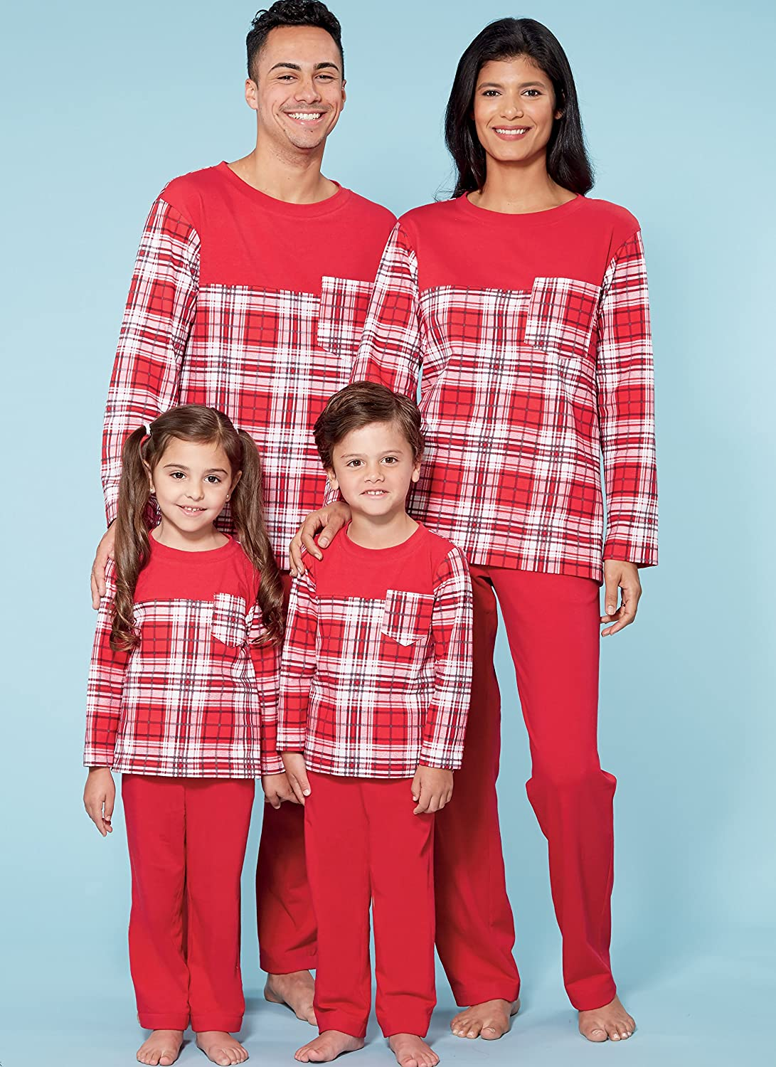 Amazon.com: MCCALLS M7700 Boys/Girls/Childrens Top and Pants PJS PAJAMA (LEARN TO SEW): Arts, Crafts & Sewing
