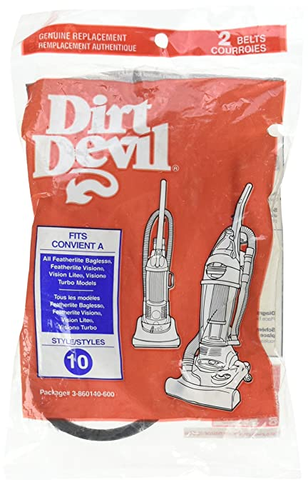 Dirt Devil Vacuum Belt (3860140600) Style 10
