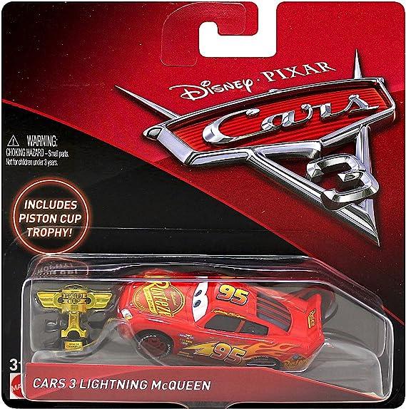 Amazon Com Disney Pixar Cars 3 Lightning Mcqueen Die Cast Vehicle
