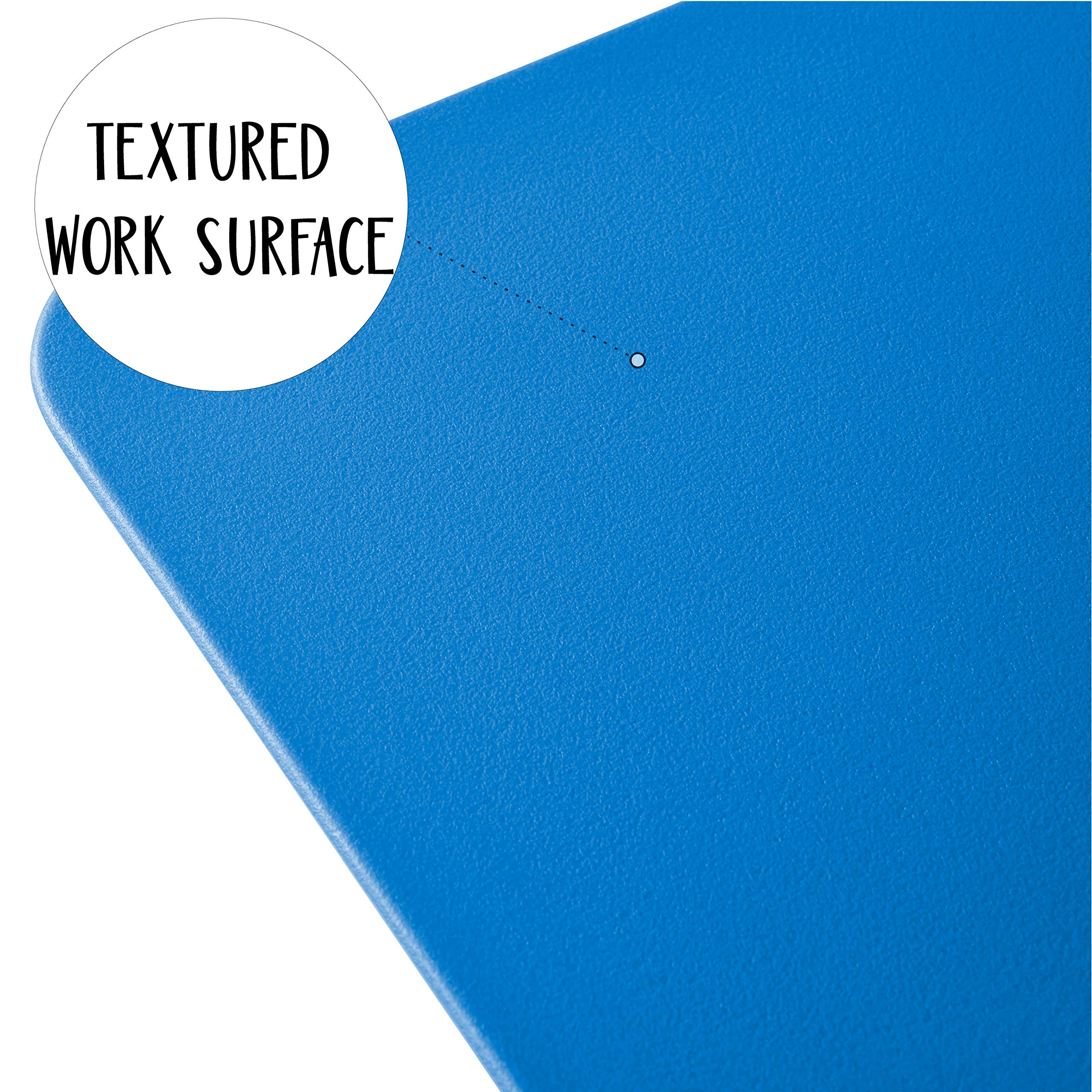 ECR4Kids The Surf - Portable Lap Desk/Laptop Stand/Writing Table, Blue (10-Pack) by ECR4Kids (Image #6)
