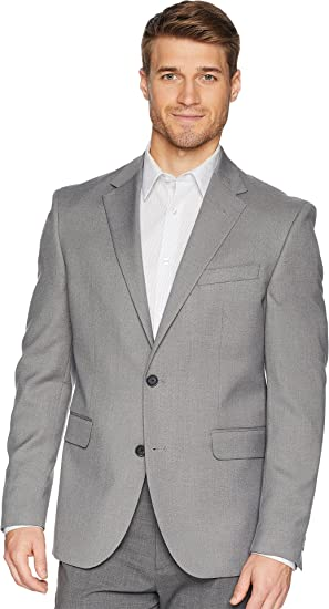 3ebb1521a89 Image Unavailable. Image not available for. Color: Dockers Men's Regular  Fit Stretch Suit Separate Blazer Light Grey ...