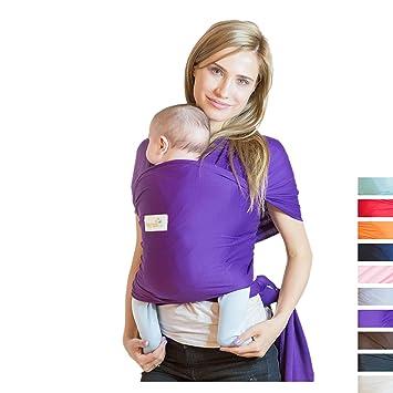 12eba92e0f7 Amazon.com   Beechtree Baby Classic Cotton Baby Wrap