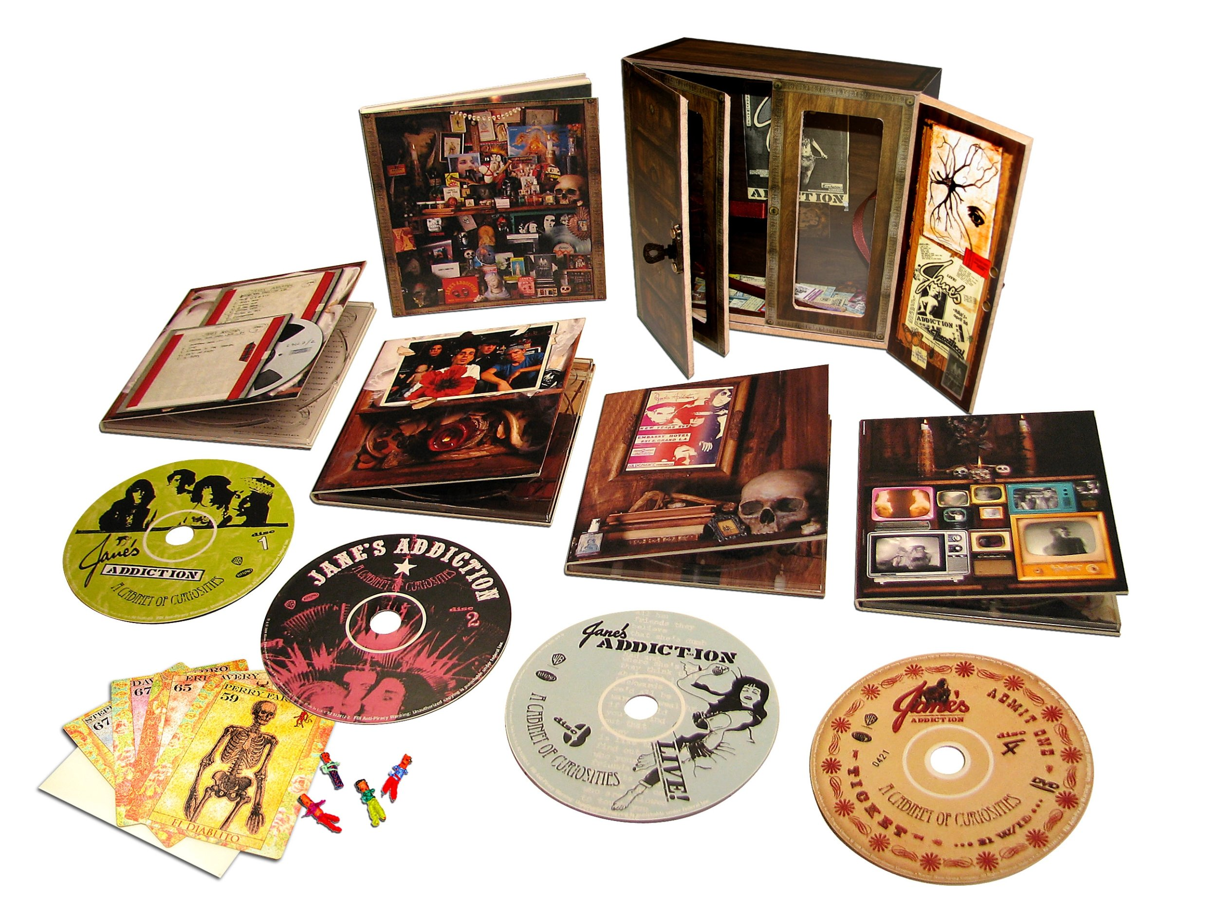 A Cabinet Of Curiosities (Deluxe Limited Edition Box Set)(3CD/1DVD)