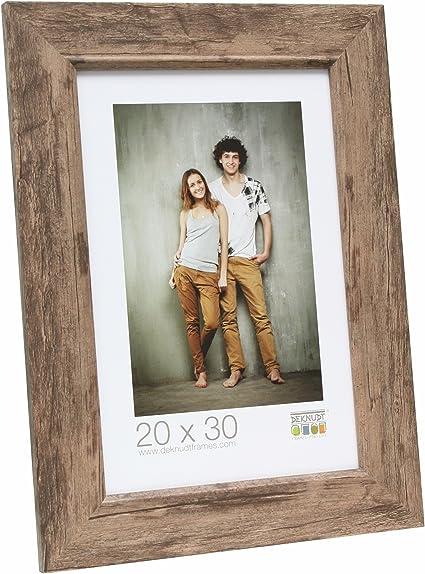 Deknudt Frames S43XF3-10.0X15.0 Bilderrahmen Holz 21 x 16,7 x 1,4 cm strukturiert Beige