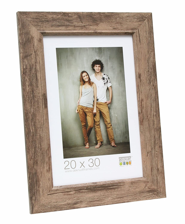 Braun 10 x 15 cm Holz Deknudt Frames S48SH3 Bilderrahmen