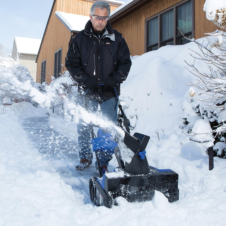 snow joe snow blower reviews