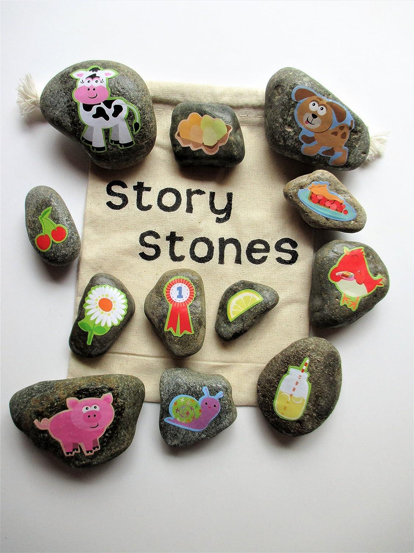 Farm story stones