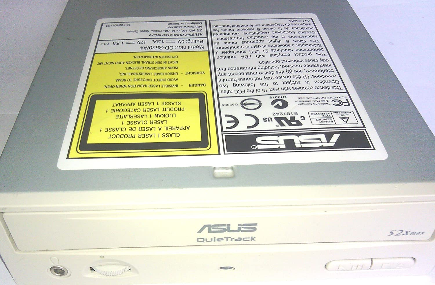 ASUS QUIETRACK CD ROM WINDOWS 7 DRIVERS DOWNLOAD (2019)