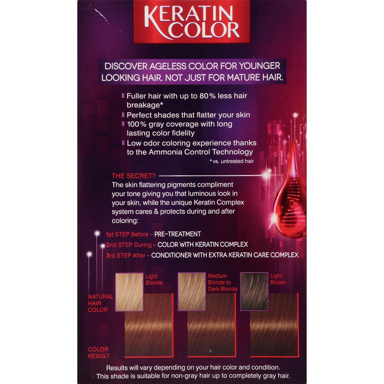 Amazon Schwarzkopf Keratin Color Anti Age Hair Color Cream 55