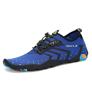 Mens Womens Water Shoes Quick Dry Barefoot for Swim Diving Surf Aqua Sports Pool Beach Walking Yoga