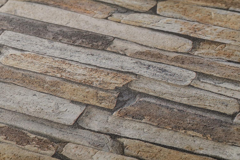 crèation toison papier peint 9540-62 954062 Best of wood /& stone structures Beige A.S