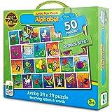 The Learning Journey Jumbo Floor Puzzles, Alphabet Floor Puzzle