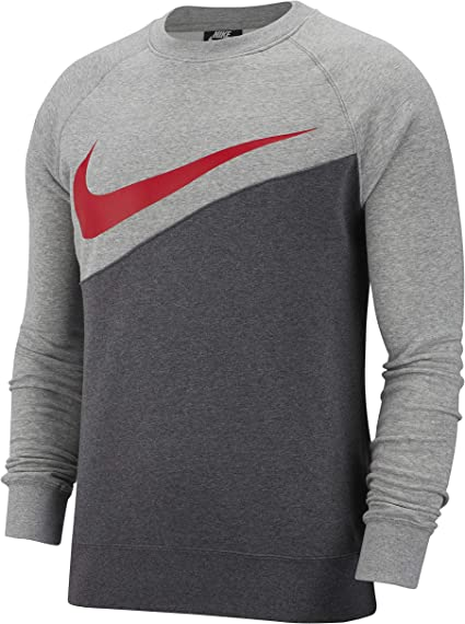 Nike M NSW Swoosh Crew BB Sweat-Shirt pour
