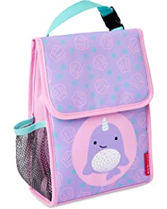 Skip Hop Kids Insulated Lunch Bag, Narwhal