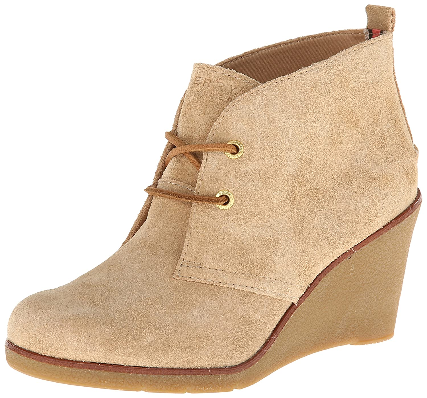 5a55427d8ef Sperry Top-Sider Harlow Boots Sand Suede