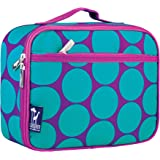 Lunch Box, Wildkin Lunch Box, Insulated, Moisture Resistant, and Easy to Clean with Helpful Extras for Quick and Simple Organization, Ages 3+, Perfect for Kids or On-The-Go Parents – Big Dot Aqua