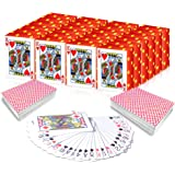 Gamie Mini Playing Cards - Pack of 20 Decks - Poker Cards - Miniature 1.5 Inch Card Set - Small Casino Game Cards for Kids, a
