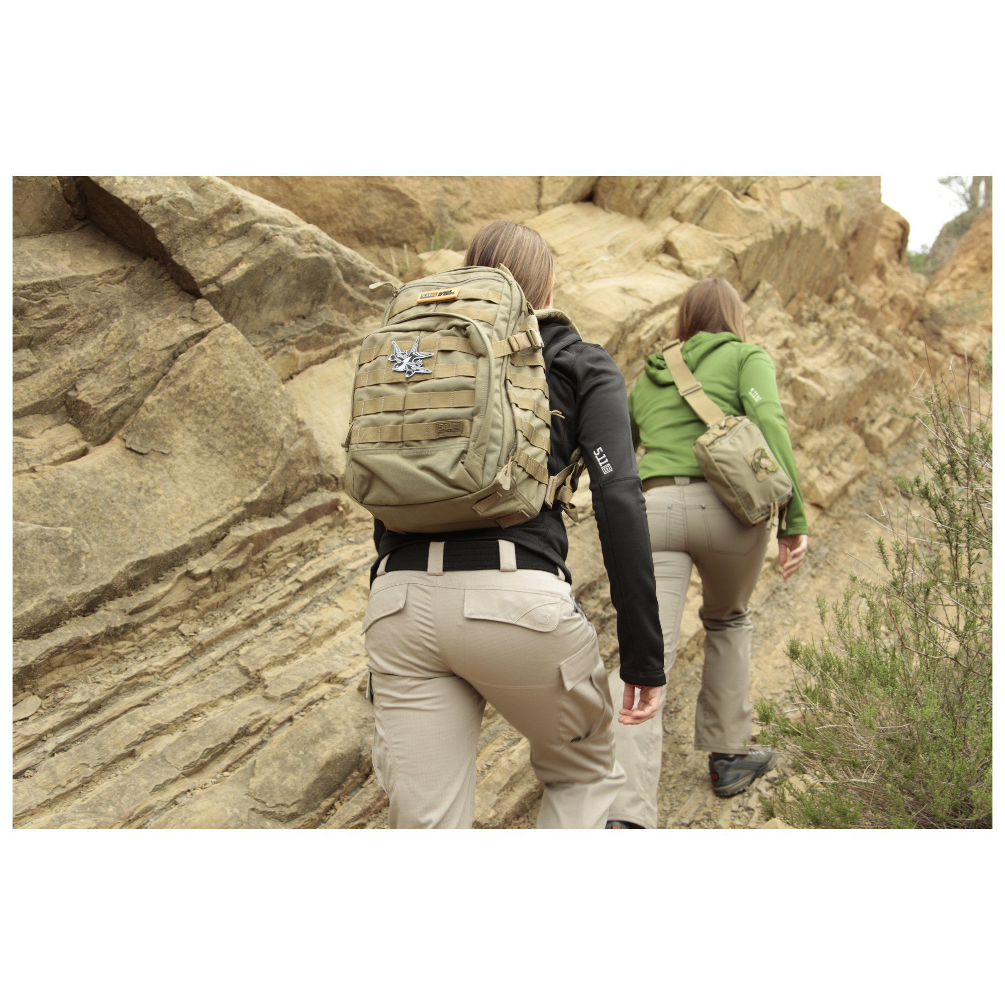 5.11 RUSH12 Tactical Military Assault Molle Backpack, Bug Out Rucksack Bag, Small, Style 56892, Multicam by 5.11 (Image #4)