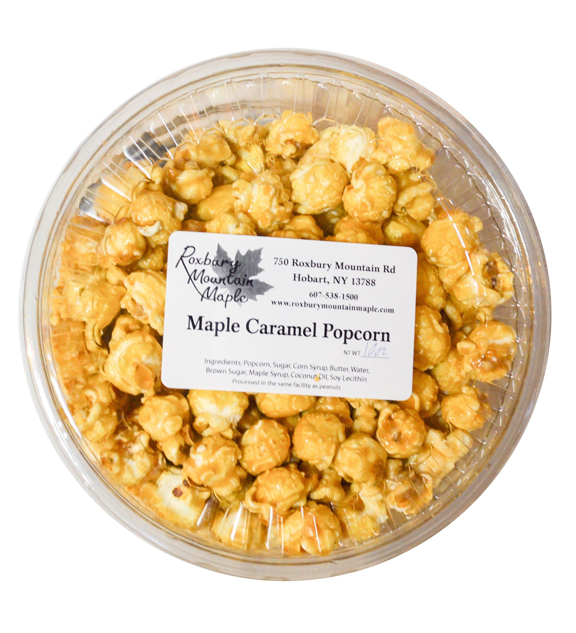 Maple Caramel Popcorn, Roxbury Mountain Maple, 10 Oz