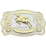 RIDE AWAY Cowboy Big Belt Buckle Bull Riding Western Bull Rider Rodeo New Texas