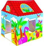 Jilong 97016 - Casetta Gioco Animal Play House, Azzurro