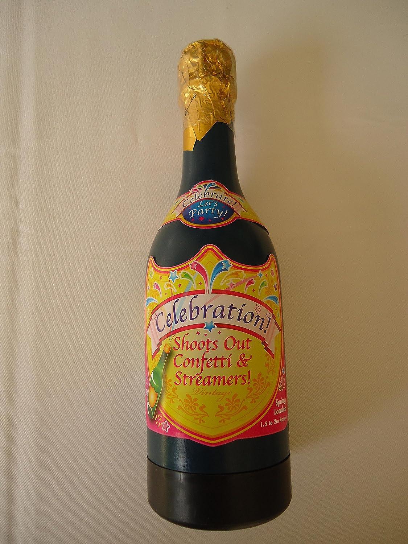 E-Randi - Cañón, esparcidor de Confeti, Fiesta, Botella ...