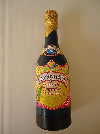 e-randi Cañón, lanzador confeti, fiesta, Party, botella, champán,