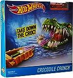 Hot wheels Themed Crocodile Crunch Trackset, Multi Color