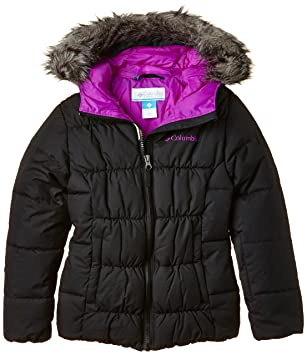 af40eeb5 Columbia Girl's Gyroslope Waterproof Jacket: Amazon.co.uk: Clothing