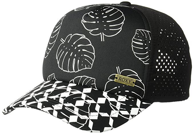 77a613dc8b9 Amazon.com  Roxy Women s Waves Machine Trucker Hat