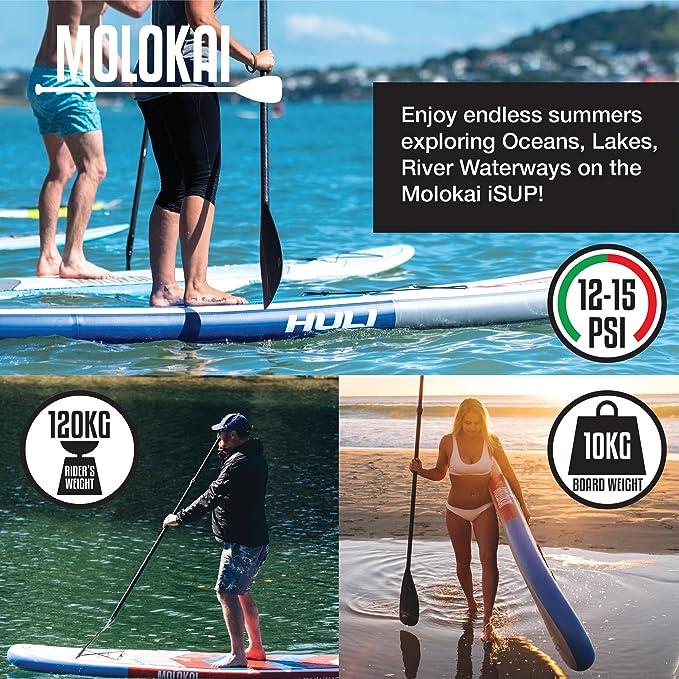 Kit de tablero hinchable para pádel - El kit completo de Molokai ...
