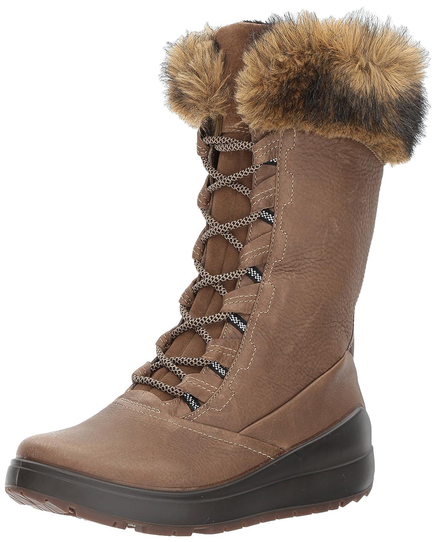 ECCO Women's Noyce Tall Snow Boot B01M2946J4 35 EU / 4-4.5 US|Birch/Coffee
