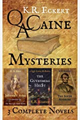 Q. A. Caine Mysteries: Three Complete Novels: Jefferson's Ashes, The Gutenberg Heist & The Sixth Address Kindle Edition