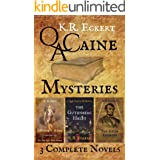 Q. A. Caine Mysteries: Three Complete Novels: Jefferson's Ashes, The Gutenberg Heist & The Sixth Address