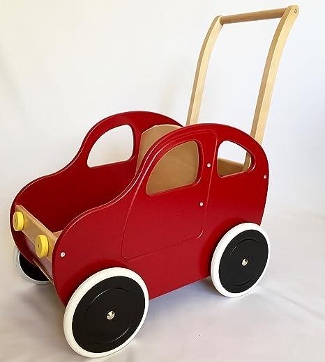 Carrito para muñeco coche de Colour rojo - De Coche Colour ...