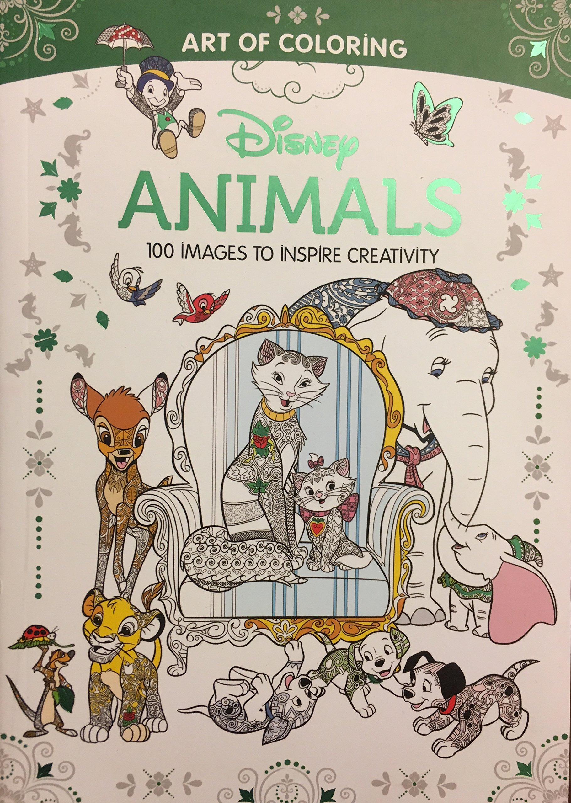 - Art Of Coloring: Disney Animals (Walmart Black Friday Custom Pub